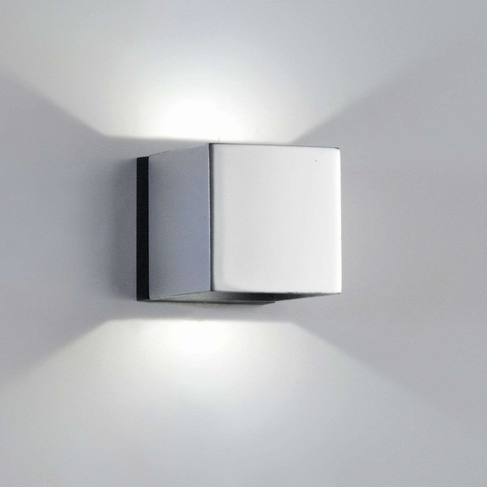 Applique a LED Dau Mini 2 luci cromo