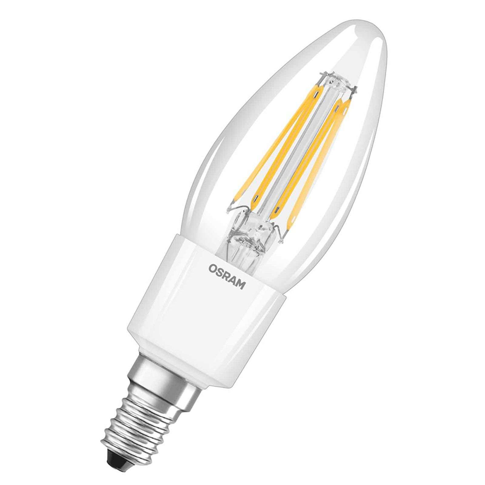 E14 4,5W 827 LED a candela Retrofit dimmerabile