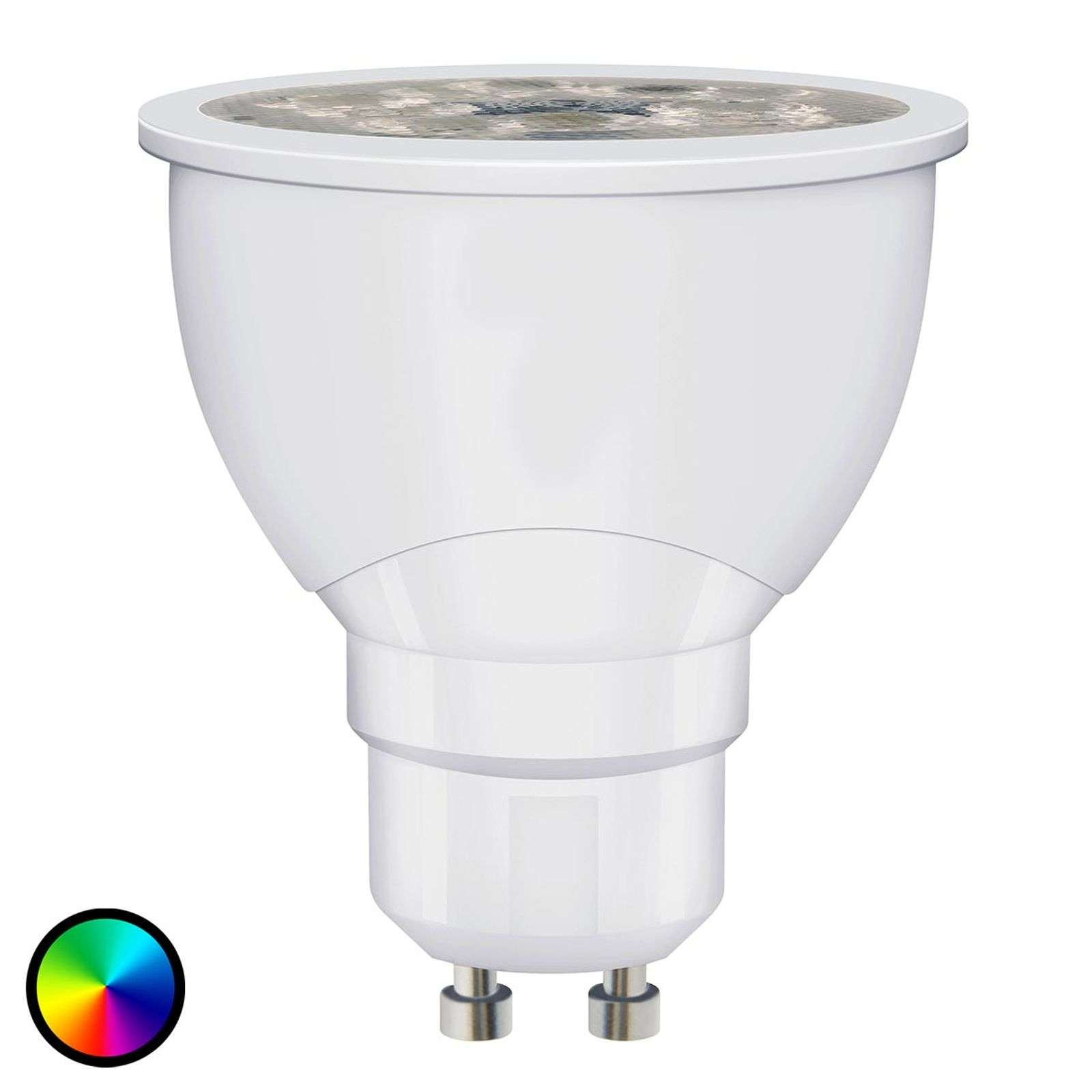 SMART+ LED GU10 6W, RGBW, 300lm, dimmerabile