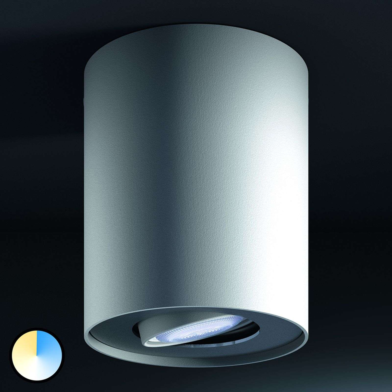 Philips Hue Pillar spot con dimmer, bianco