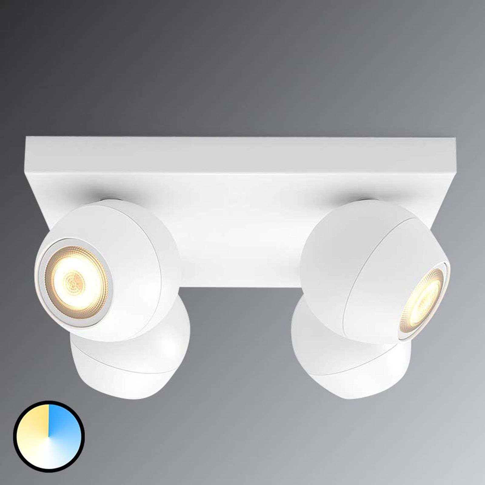 Spot LED bianco Philips Hue Buckram WhiteAmbiance