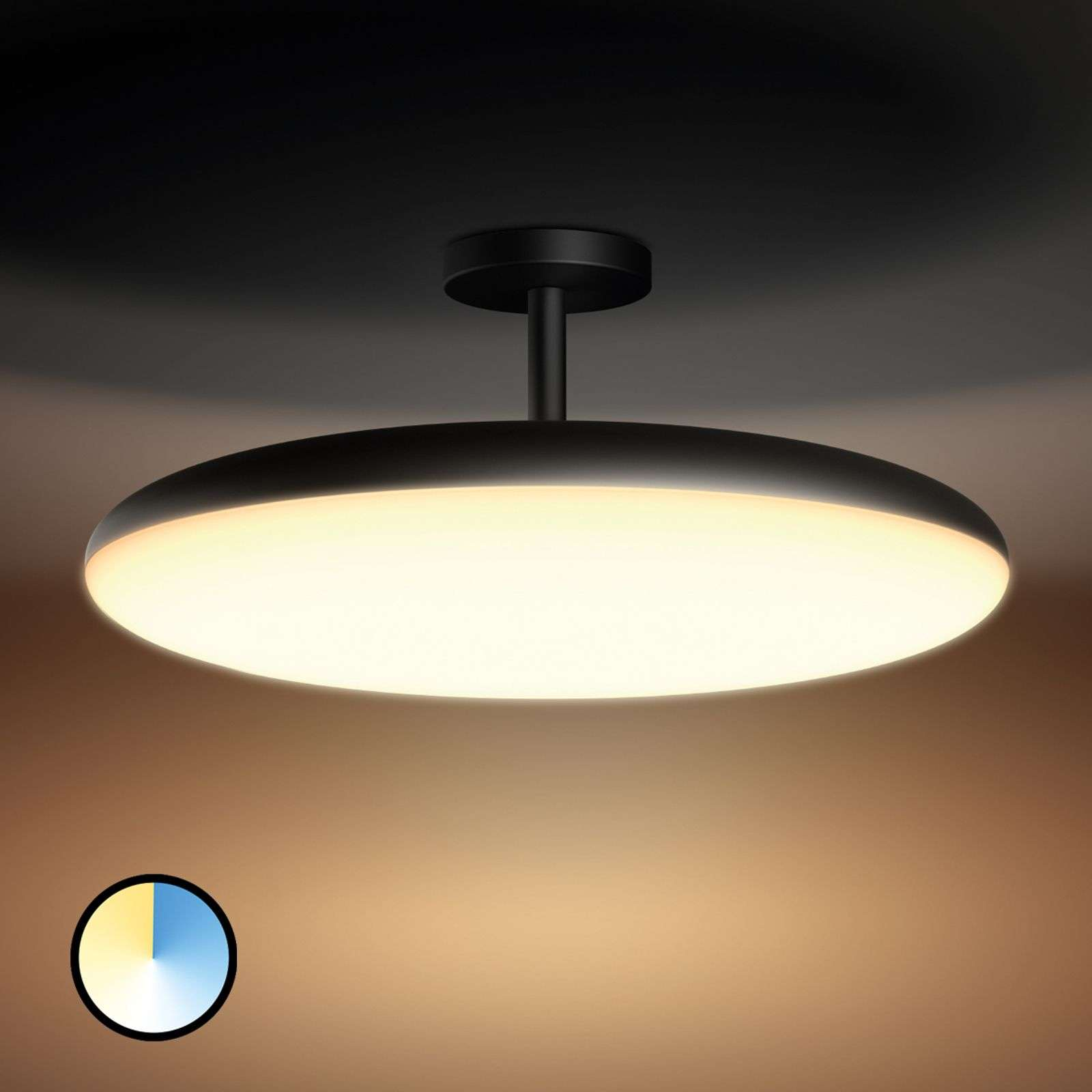 Plafoniera LED Cher Philips Hue gestibile