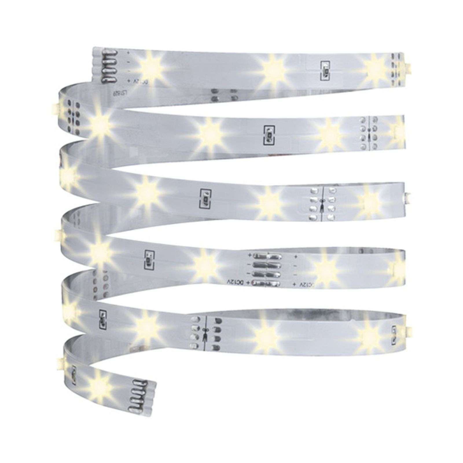 Strip LED da 3 m YourLED Eco, bianco, luce calda