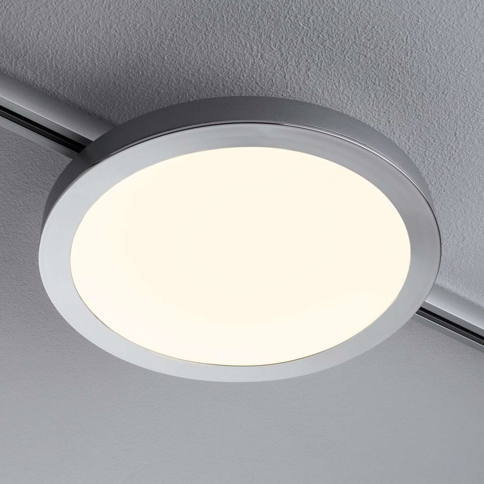 LED Panel Spin per 1-URail cromo satinato