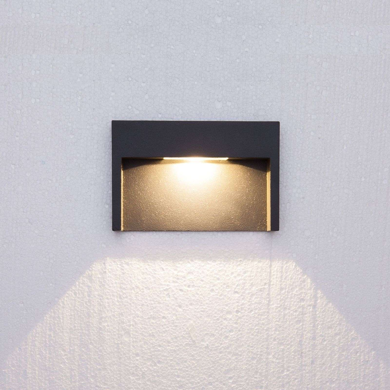 Applique Mitja, a LED di 3 W, IP65
