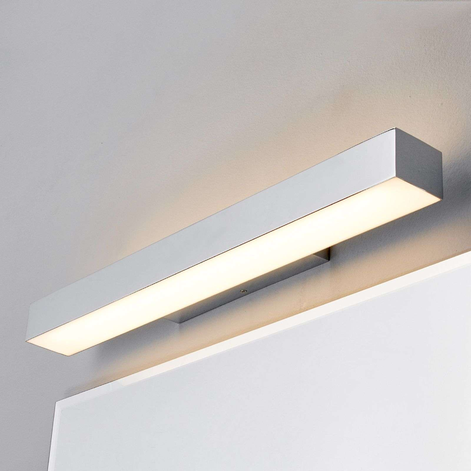 Applique per bagno con LED Kiana cromo