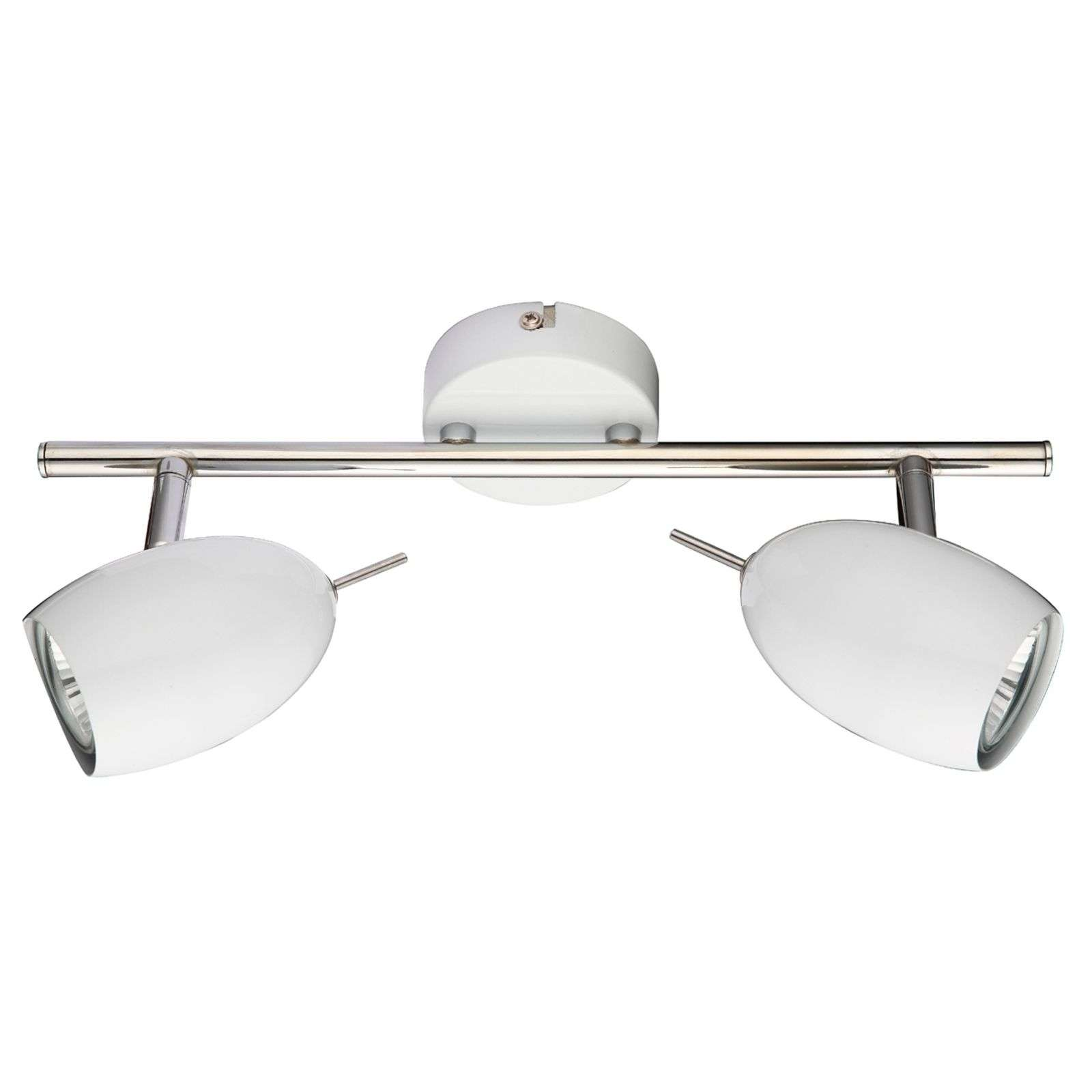 Lampada a trave LED QUINCY 2 luci, bianco