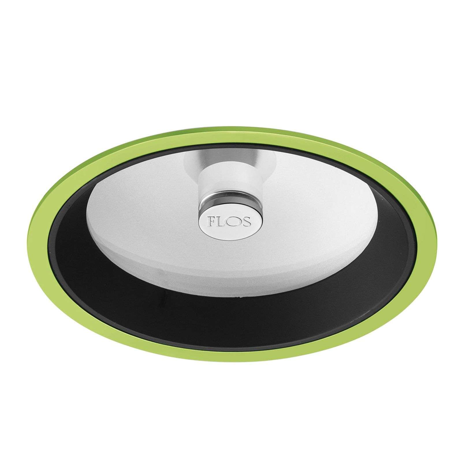 Downlight Wan di FLOS, verde