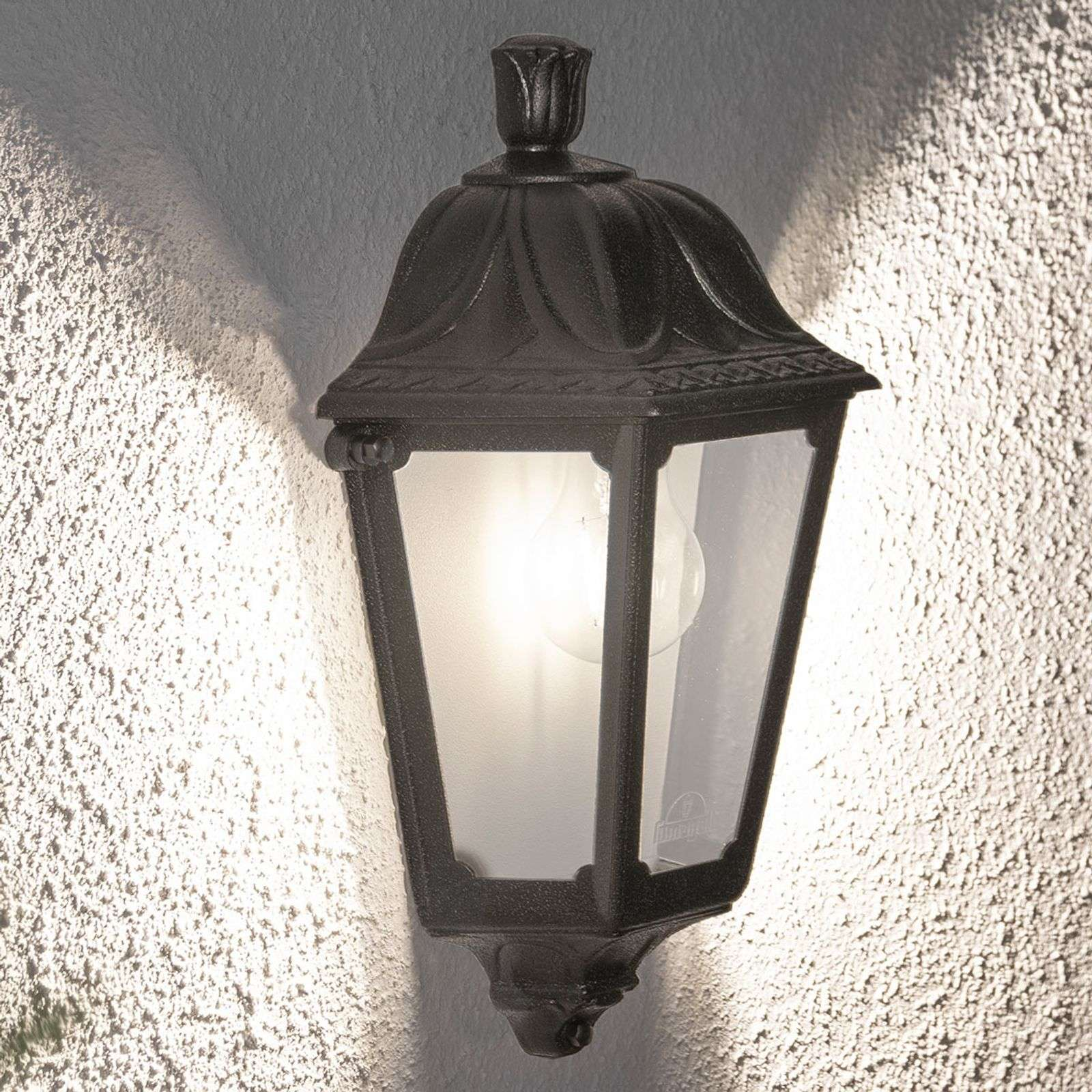 Applique da esterni LED Iesse nera, aree costiere