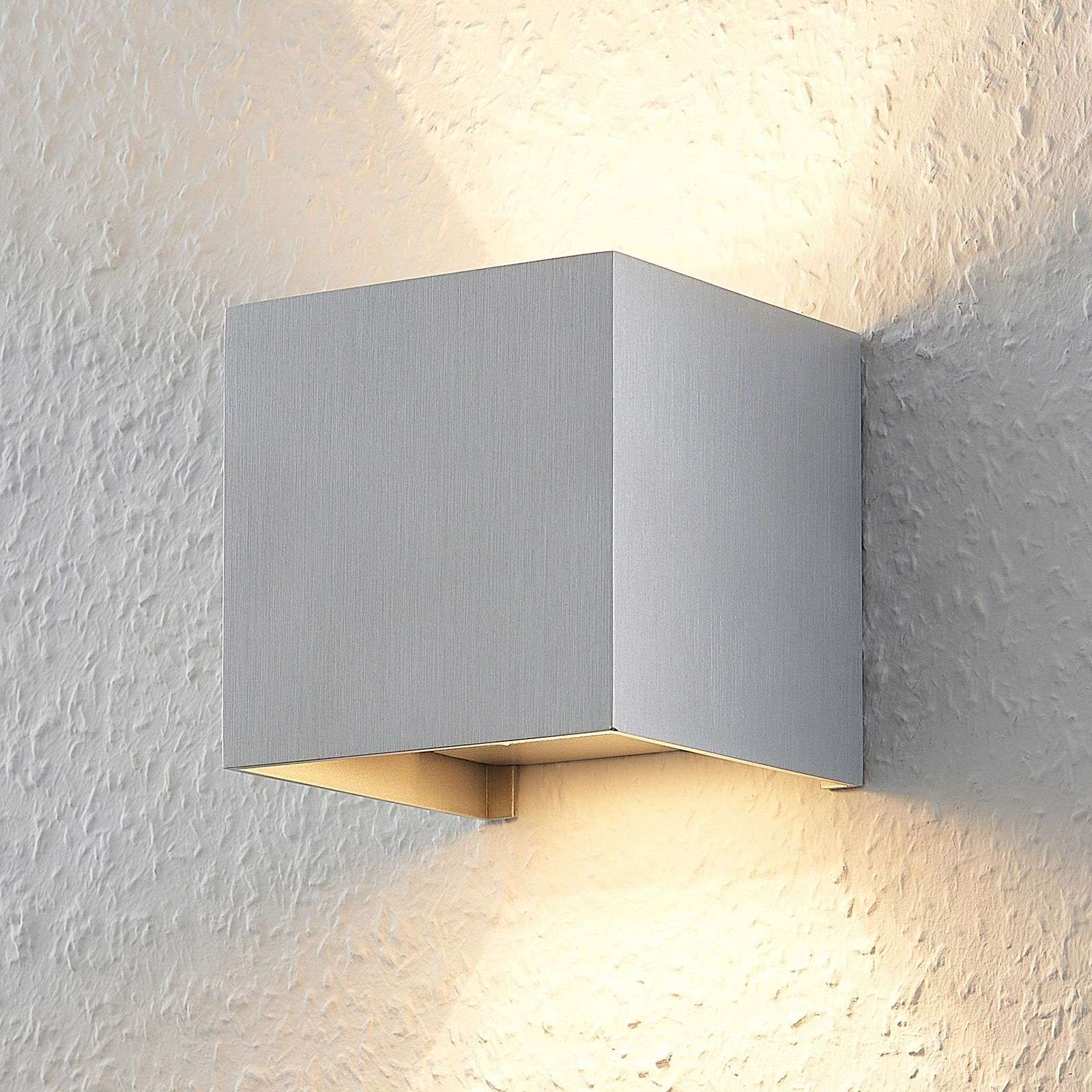 Applique in alluminio Zuzana con lampadina LED G9