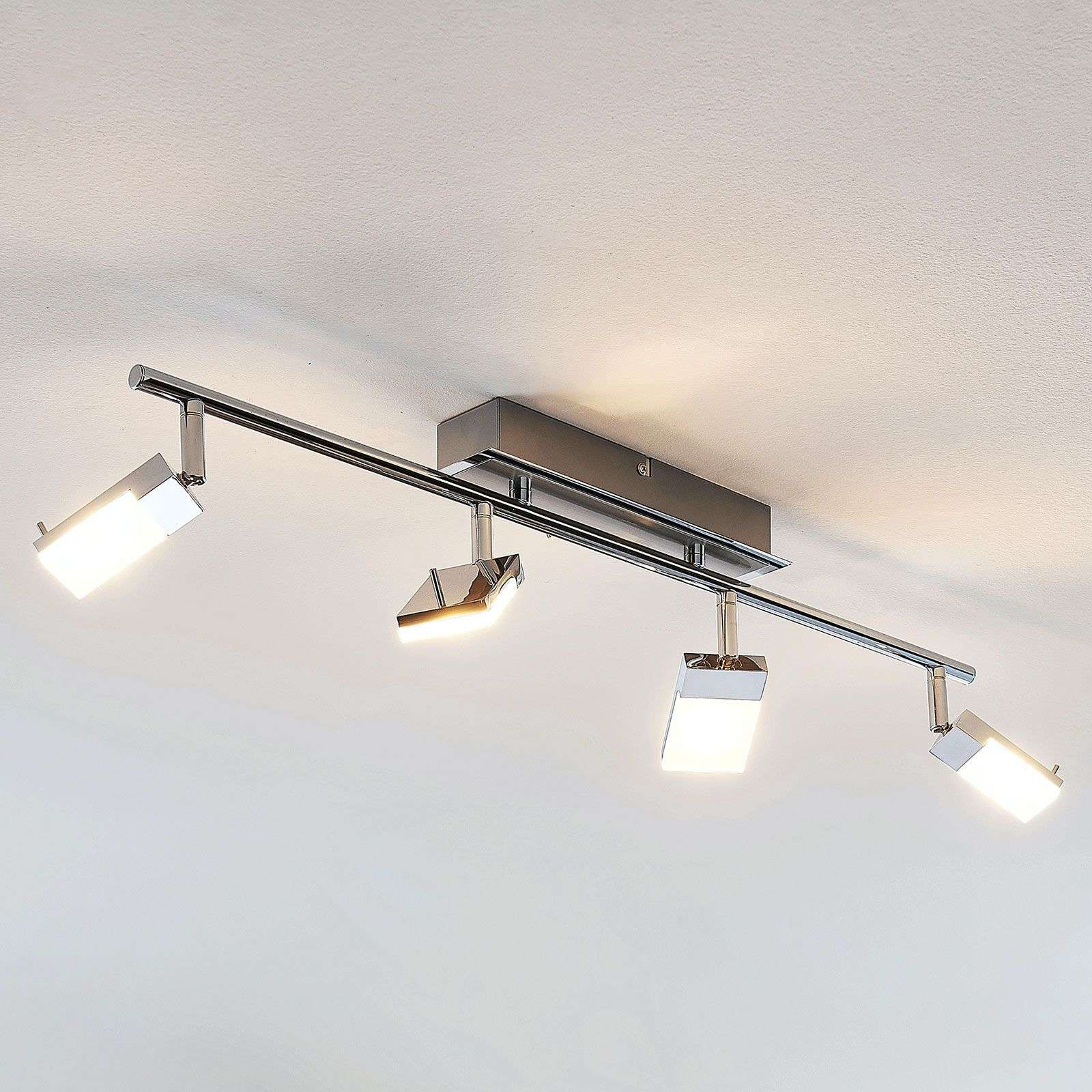 Faretto da soffitto LED Evelina a 4 luci