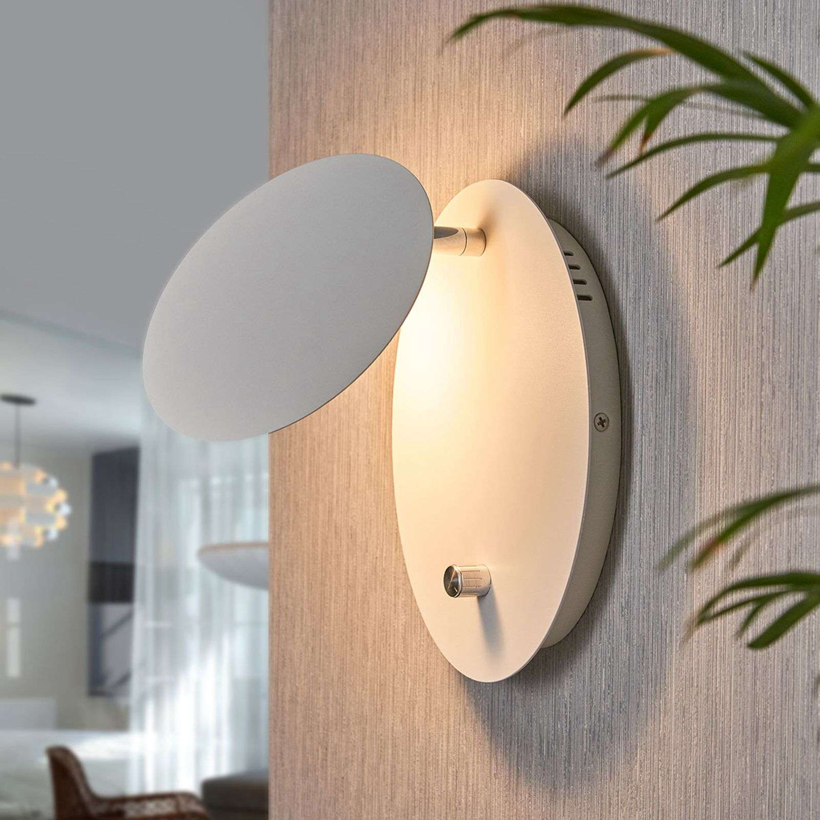Applique a LED Chesta dimmerabile in continuo