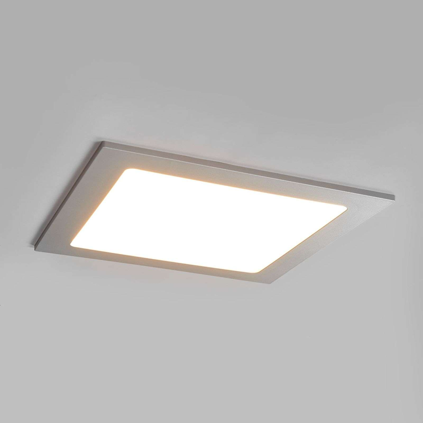 Lampada LED downlight Joki color argento IP44