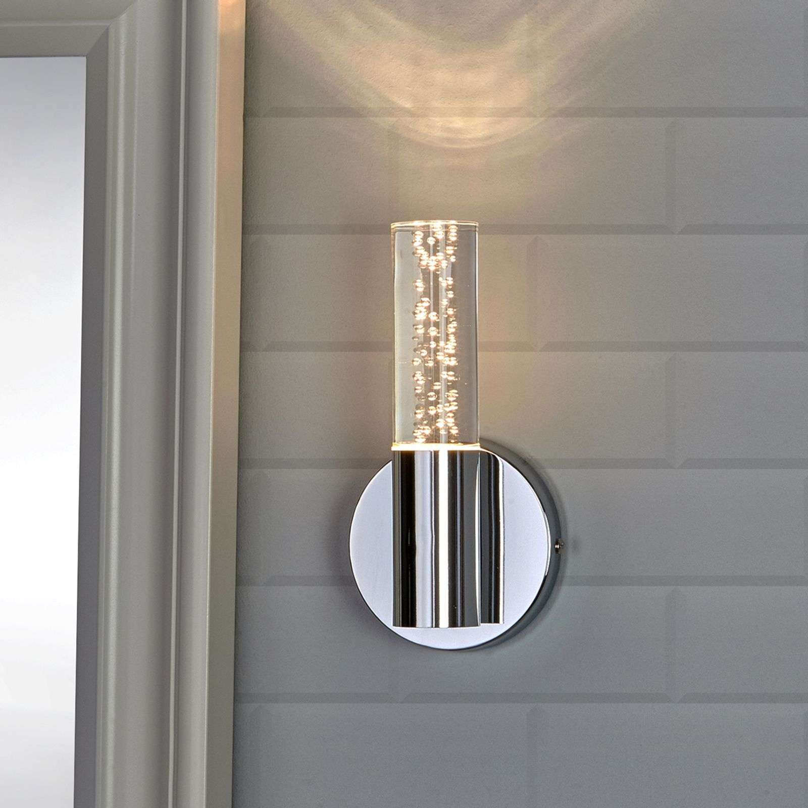 Decorativa applique LED Duncan per bagni