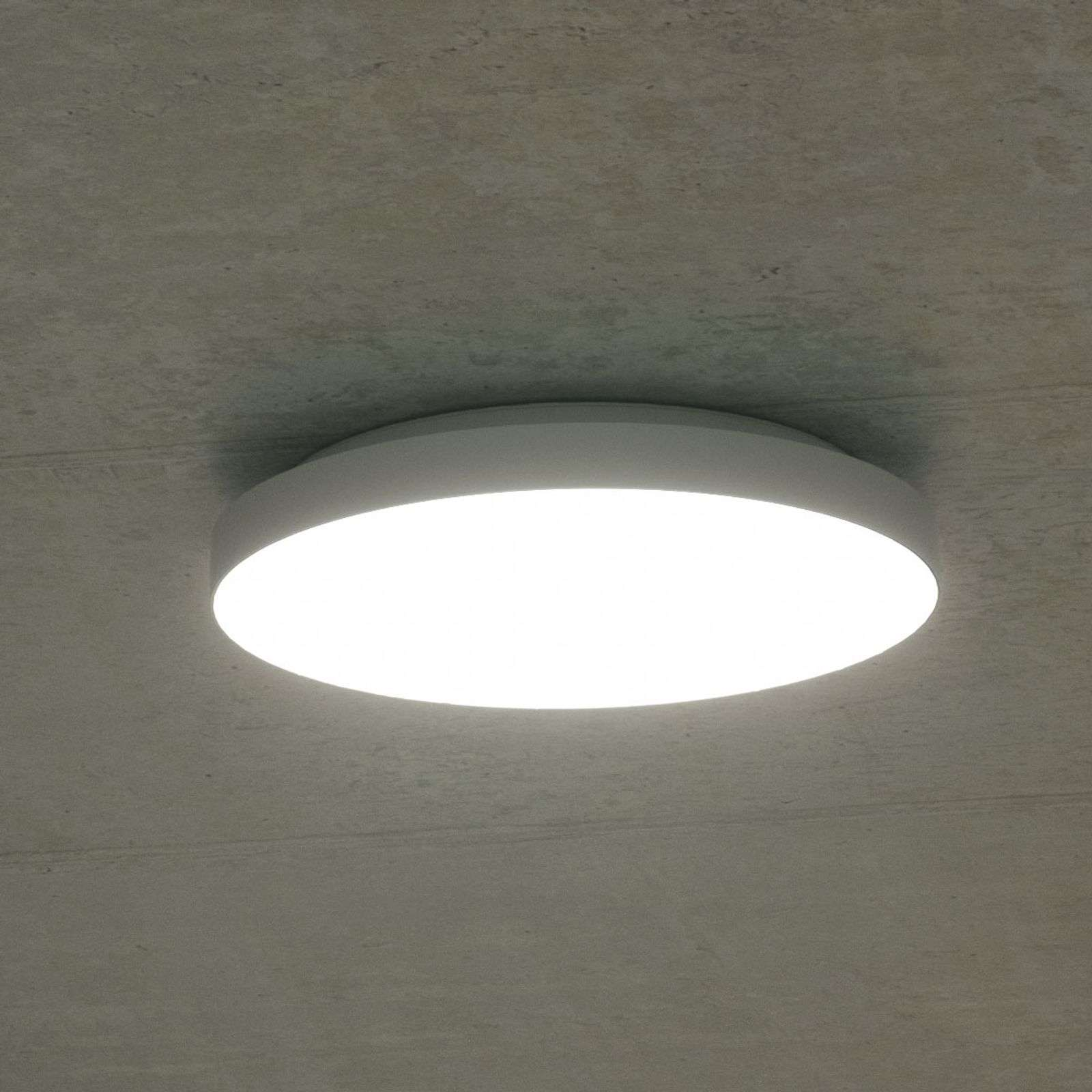 Plafoniera LED Rob, IP44, bianco neutro