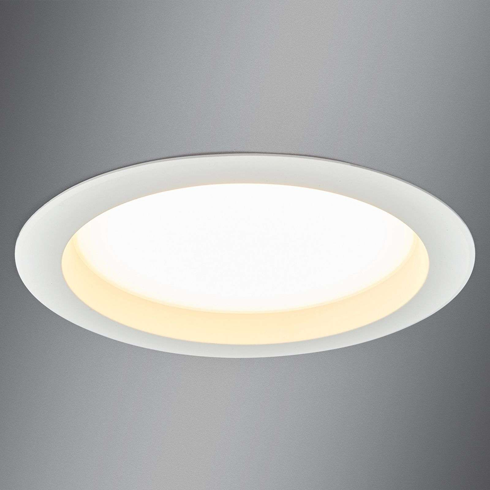 Grosso downlight LED Arian, 24,4 cm 22,5W